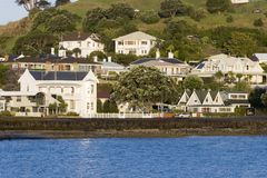 Küste-Häuser Lizenzfreie Stockfotos