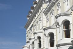 Küste-Hotels Stockfotos