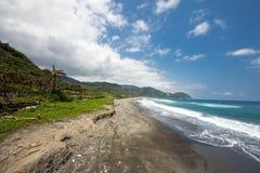 Küste in Hualien Stockbild