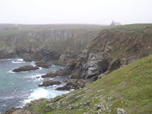 Küste im Nebel Lizenzfreie Stockfotos