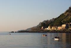 Küste Ionen stockfotografie