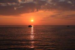 Küste in Istria, Kroatien Lizenzfreies Stockfoto