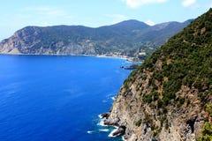 Küste in Italien Stockbild
