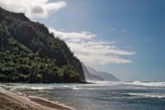 Küste Kauai, Hawaii Na Pali Lizenzfreie Stockbilder