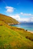 Küste am Keem Schacht auf Achill Insel Lizenzfreie Stockbilder