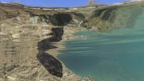 Küste kekova in der Türkei, Feiertagsplatz, Bild von Fischen vom Underwater Lizenzfreies Stockfoto