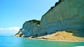 Küste Korfu Stockbilder