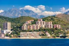 Küste Korsikas, Frankreich Lizenzfreie Stockbilder
