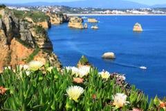 Küste Lagos, Algarve in Portugal Stockfoto