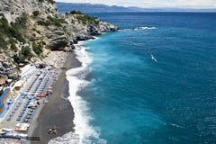 Küste Ligurien Stockfotografie