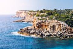 Küste, Majorca Lizenzfreie Stockfotos