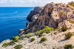 Küste, Majorca Stockbild
