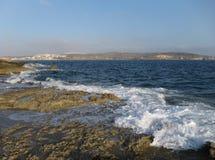 Küste in Malta lizenzfreies stockfoto