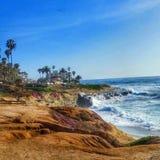 Küste mit den die meisten lizenzfreies stockfoto