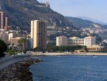 Küste Monte Carlo Stockbilder