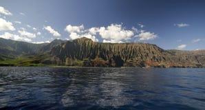 Küste Na-Pali Lizenzfreie Stockfotografie