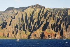 Küste Na-Pali Stockfotografie