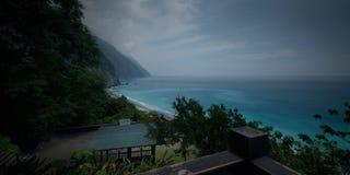Küste nah an Pazifischem Ozean Stockfotos