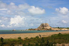 Küste, Nationalpark Yala, Sri Lanka Lizenzfreies Stockbild