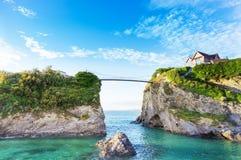 Küste Newquay Atlantik, Cornwall, England lizenzfreies stockbild