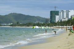 Küste Nha Trang von Vietnam stockbilder