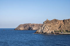 Küste in Oman Lizenzfreie Stockfotografie