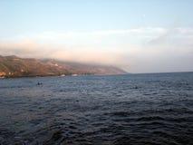 Küste-Ozean-Ufer Lizenzfreies Stockfoto