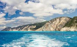 Küste Porto Katsiki Lizenzfreie Stockfotografie