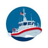 Küste-Schutz-USA Lizenzfreie Stockfotos