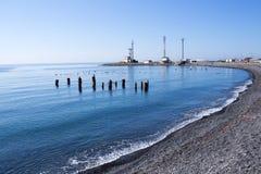 Küste Schwarzen Meers Lizenzfreie Stockbilder