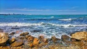 Küste Schwarzen Meers lizenzfreies stockfoto