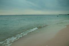 Küste Schwarzen Meers stockfotografie