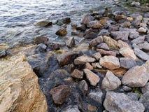 Küste Schwarzen Meers Lizenzfreies Stockbild
