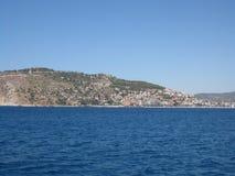 Küste Türkei-Küstengebiets Lizenzfreies Stockfoto