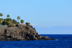Küste in Tenerife Stockfotos