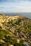 Küste und Klippen von Malta Lizenzfreie Stockbilder