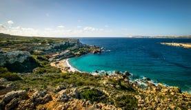 Küste und Klippen von Malta Lizenzfreie Stockfotografie