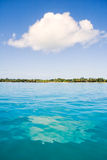 Küste und Wolke Lizenzfreie Stockbilder