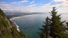 Küste vom clifftop Stockbild