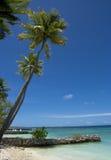 Küste vom Indischen Ozean Lizenzfreies Stockfoto