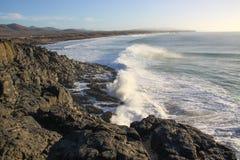 Küste von Ajuà Lizenzfreie Stockfotos