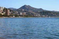 Küste von Andalusien Màlaga, Spanien Stockfotografie