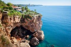 Küste von Antalya, die Türkei Stockfotografie