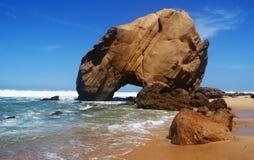 Küste von Atlantik lizenzfreies stockbild