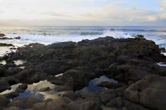 Küste von Bajamar Lizenzfreies Stockfoto