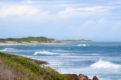 Küste von Barbuda Stockbilder