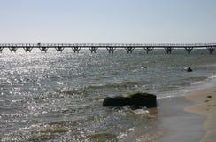 Küste von Bornholm Lizenzfreies Stockbild
