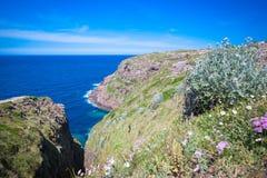 Küste von Bretagne Lizenzfreies Stockbild