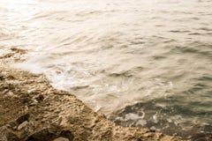 Küste von Bugibba Stockfotografie