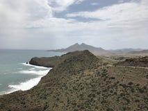 Küste von Cabo De Gata Lizenzfreies Stockfoto